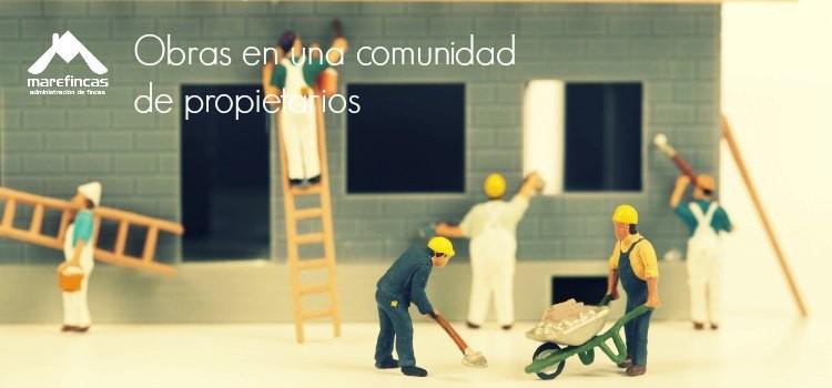 Obras en comunidades de propietarios